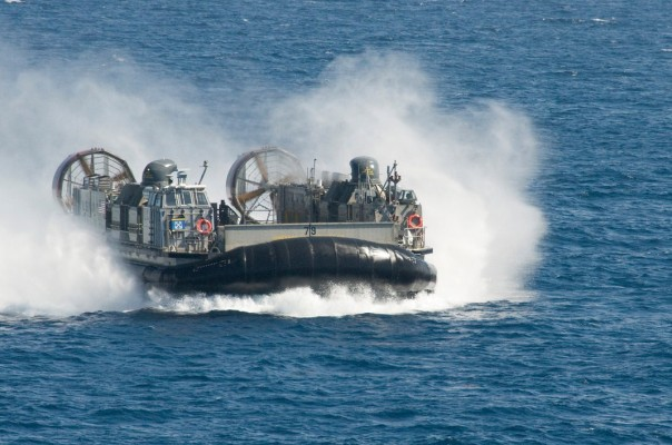 LCAC Approaching fast